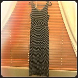 APT. 9 Striped Maxi Dress